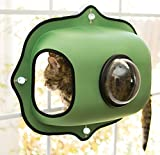 K&H Pet Products EZ Mount Window Bubble Pod Green 27'' x 20'' Kitty Sill