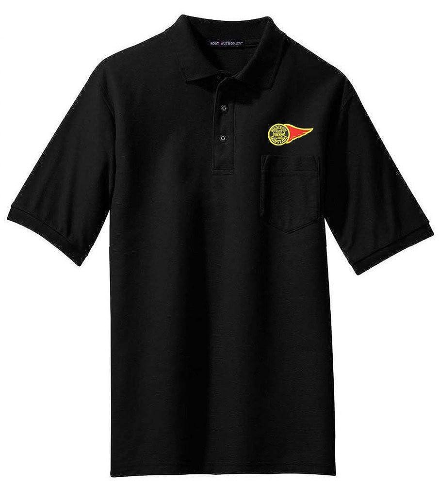 63 Western Maryland Fireball Logo Embroidered Polo