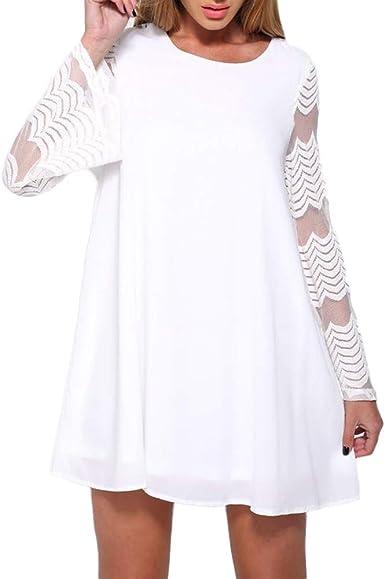 Sunnywill Camisetas Mujer Tallas Grandes Algodón Lino Verano Originales Blusa Mujer Elegante Manga Largo Algodón Otoño Fiesta Camisas T Shirt Women Tops Invierno: Amazon.es: Ropa y accesorios