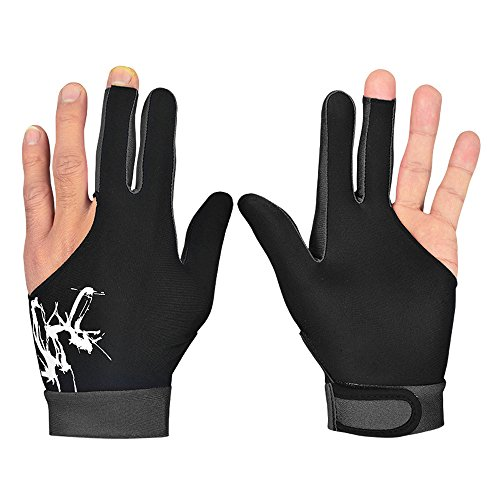Snooker Left Hand Three Fingertip Glove - 5