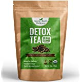 Organic Detox Tea - The Ultimate 28 Day Cleanse - Healthy Teatox Weight Loss Alternative + Natural Body Cleanse + Reduces Bloating - Loose Leaf Green Tea Detox Blend - Green Root Wellness