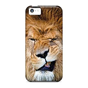 High Quality HopeTree Lion Grin Skin Case Cover Specially Designed For Iphone - 5c
