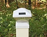 Plastic White Outdoor LED 78Lumens Solar Post Cap Light for 4 x 4 Posts Review