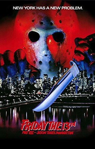 "Friday the 13th VIII  Jason Comes to Manhattan Poster 24"" X"