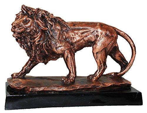 Bronze walking Lion Sculpture C8435