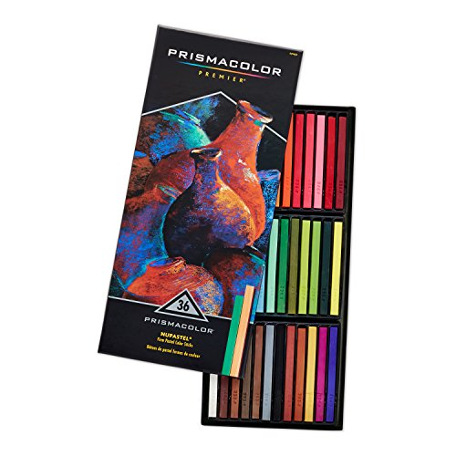 Prismacolor Premier NuPastel Firm Pastel Color Sticks, 36-Count