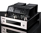 Nobsound 160W Bluetooth 4.0 Vacuum Tube Power Amplifier Stereo HiFi Class AB Integrated Audio Amp USB/SD Card