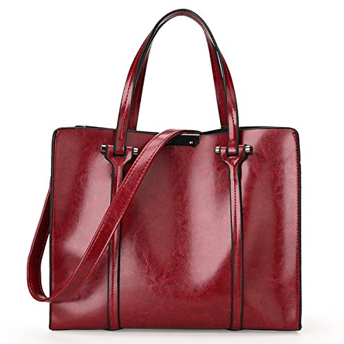 Bolsos De Hombro De Cuero Para Mujer Multicolor Bolsa De Hombro De Moda Bolsa De Viaje Shopper De Cuero Partido Banquete Retro Rojo