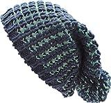 Tahari Chunky Popcorn Knit Beanie Hat With Pom Pom