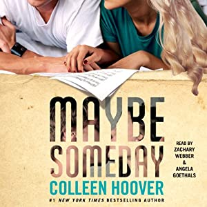Maybe Someday | Livre audio