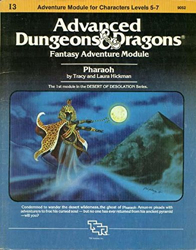 Pharaoh: Advanced Dungeons & Dragons Fantasy Adventure Module (Module I3 for Characters Levels 5-7)