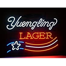 Yuengling Lager Beer neon Light Signs Pub Display Neon Signs Neon Handicrafted Real Glass Tube17x14