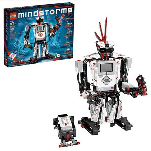 LEGO MINDSTORMS EV3 31313 Robot Kit with Remote Control for