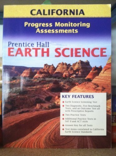 Download Earth Science, Progress Monitoring Assessments California pdf epub