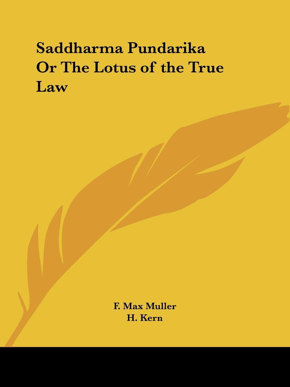 Download Saddharma Pundarika Or The Lotus of the True Law pdf epub