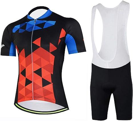 TZTED Maillot Ciclismo + Pantalon/Culote Bicicleta Ropa Maillot ...