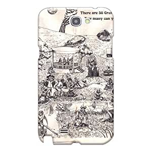Samsung Galaxy Note 2 BpD1238Nyek Support Personal Customs Nice Grateful Dead Pattern Scratch Protection Hard Cell-phone Case -MarcClements