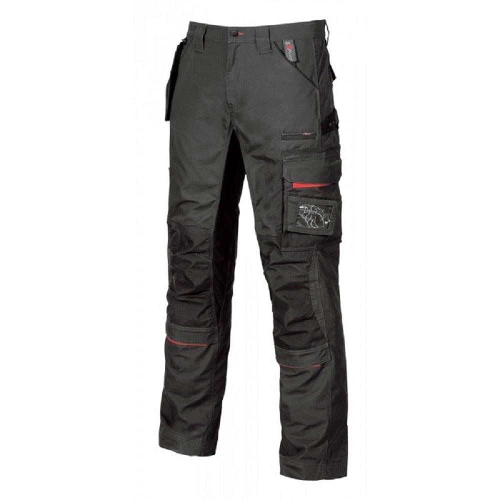 pantaloni con tasca rimovibile sulla coscia 1 44 Black Carbon Upower