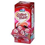 Coffee-mate 42498CT Liquid Coffee Creamer, Cinnamon Vanilla, 0.375 oz Mini Cups, (4 Boxes of 50)