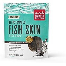 Honest Kitchen The Beams Grain-Free Dog Chew Treats - Natural Human Grade Dehydrated Fish Skins, 3.25 oz Small