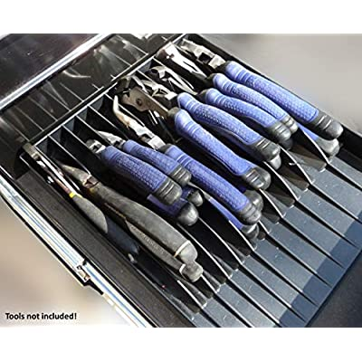 Tool Sorter Pliers Organizer Black: Home Improvement