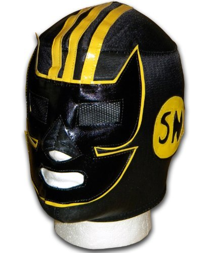 Luchadora Black September adult Mexican Lucha wrestling mask by Luchadora by Luchadora