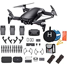 DJI Mavic Air Fly More Combo 2018 Version Starter Bundle (Black)