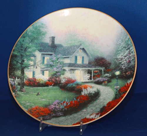 Knowles - Home Sweet Home First Issue in Thomas Kinkade's Home Is Where The Heart is Series - Limited Edition Collectors Plate
