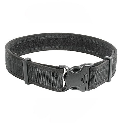BLACKHAWK! Black Reinforced 2-Inch Web Duty Belt with Loop Inner - Medium