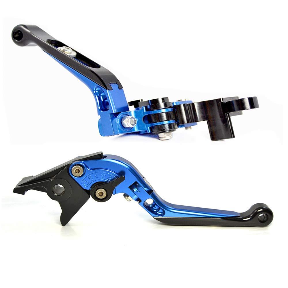 Palancas de freno y embrague pleglables y extensibles de alta calidad para motocicleta, CNC para Yamaha MT-07/FZ-07/MT-09/SR/FZ09 2014-2018 FZ-10/MT-10/XSR ...