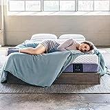 Muse Cooling Gel Memory Foam Mattress - Queen Size, Medium Firmness - Sleeps Cooler Than Traditional Foam - Made in USA & CertiPUR Certified