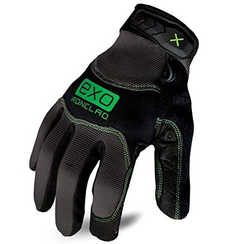 Ironclad EXO-MWR-05-XL Modern Work Ready Gloves, Black/Grey, X-Large