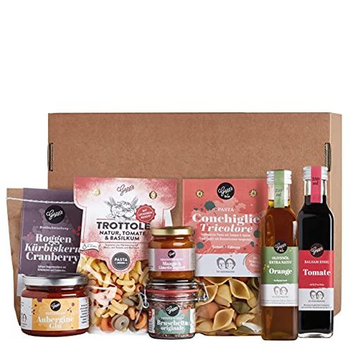 Gepp's Feinkost Basic Paket Single   Vorratspaket mit feinsten Delikatessen, wie Pasta und Bio Olivenöl, hergestellt…