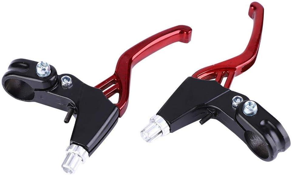 Road Bike Folding Bike Universal 2.2cm Diameter Aluminium Alloy Brake Handles for Mountain Bike Yosoo Health Gear 1 Pair Bicycle Brake Levers