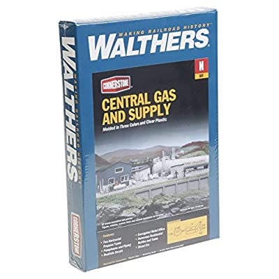 Walthers SceneMaster Central Gas & Supply - Kit Train Collectable Train: Toys & Games