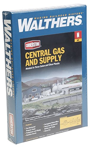 Walthers SceneMaster Central Gas /& Supply Kit Train Collectable Train