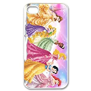 Mystic Zone Customized princess iPhone 4 Case for iPhone 4/4S Hard Cover Cartoon Fits Case KEK0028