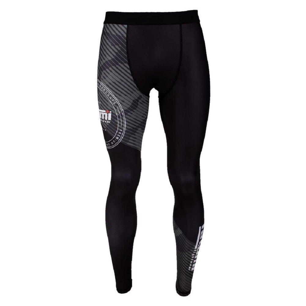 /MMA BJJ Spats Leggings de Sport Fitness Grappling No GI pour Homme Combat Pantalon de Sport Tatami Spats de Compression Renegade/ /Green Camo/
