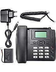 Fancylande Briskay Hotfix-telefoon met simkaart, voor op het bureau, voor thuis, op kantoor, in het bijzonder voor oudere mensen