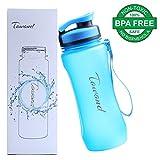 Sports BPA Free Water Bottle w/ Leak Proof Flip Top (20 Ounces, Blue)