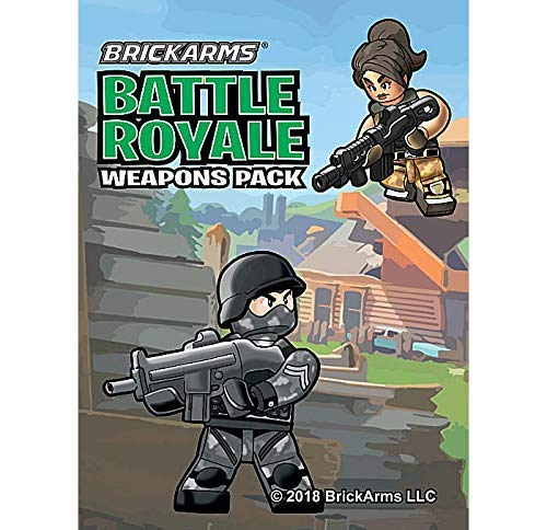 BrickArms Battle Royale Pack Minifigure Scale