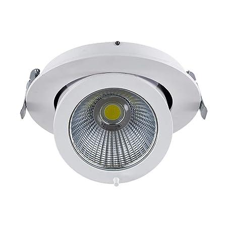 HJZY 7W de Alto Brillo Foco empotrable LED Ajustable Lámpara de ...