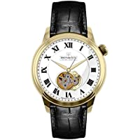 Dreyfuss 1925 Men's Open Heart Automatic Watch (DGS00092-01)