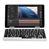 Sonmer ONE-NETBOOK One Mix 2 7'' 2-in-1 Tablet, 2.6GHz Quad Core Laptop Computer with Touchscreen and Detachable Keyboard,8GB RAM 256G PCI-E SSD,Fingerprint Recognition,Dual Band WiFi (Without Stylus)