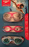 Speedo Junior Goggle Set - 3 Pack Pink/Blue Ages 6-14.