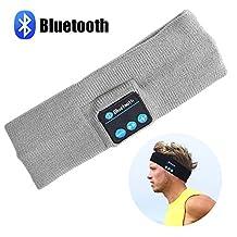 Bluetooth Music Headband, LC-dolida Wireless Bluetooth Sport Headband Stereo Headset Sport Headband Running Yoga Dancing