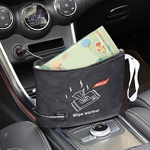 Per Portable Car Wipes Heater Baby Wipes Warmer Thermostat Warm Bag Diapering Supplies