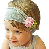 Kolylong Haarband 1 PC Baby Kind Kleinkind Mädchen Blume Hairband 17 CM (0 Monate bis 5 Jahre altes...