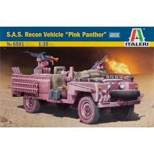 Italeri Models SAS Recon Vehicle Pink Panther Kit