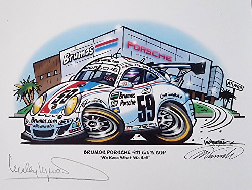 Brumos Porsche 911 GT3 Cup Signed by Haywood